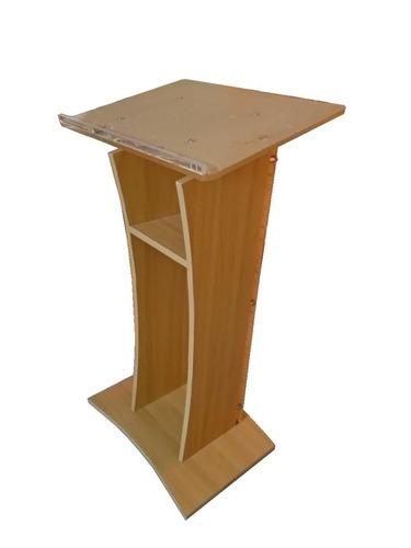 Saatvik Wooden And Acrylic Podium SP-624