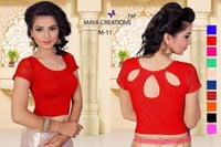 Ladies Red Cotton Blouse