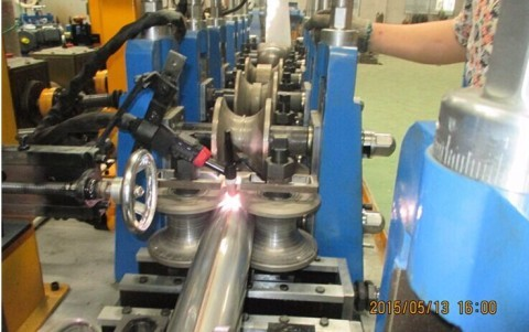 Stainless Steel Stove Pipe Making Machine
