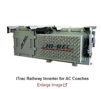 Trac Railway Inverter For AC Coaches