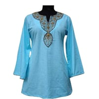 Trendy Blue Women Kurta