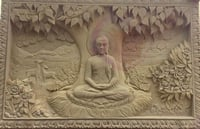 Lord Buddha Mural Panel