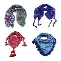 Embellished And Lace Scarves