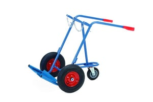 Expresso Steel Hand Trucks For Cylinder With Supporting Castors \\342\\200\\223 TYPE 090 51021
