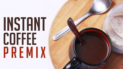 3-In-1 Tea And Coffee Premix