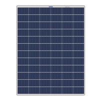 Superior Finish Monocrystalline Solar Panel