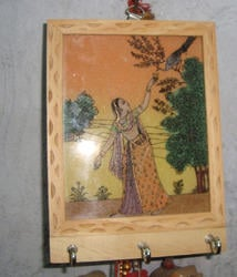 Hand Crafted Wooden Key Holder