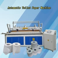 Automatic Embossing Paper Tube Tissue Toilet Paper Manufacturing Machine