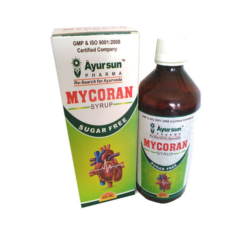 The Effective Cardioprotective - Mycoran Syrup