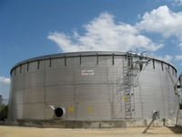 Corrugated Storage Tanks