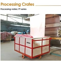 Processing Crates And Trolleys