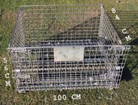 Stackable Wire Mesh Pallets