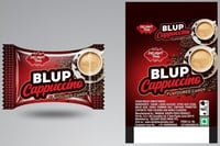 Blup Cappuccino Flavoured Candy