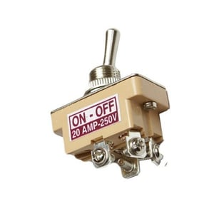 Top Quality Dpst Switch (20 Amp)