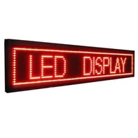 Rectangle Scrolling LED Display