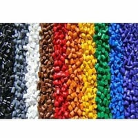 Colored Natural Plastic Granules