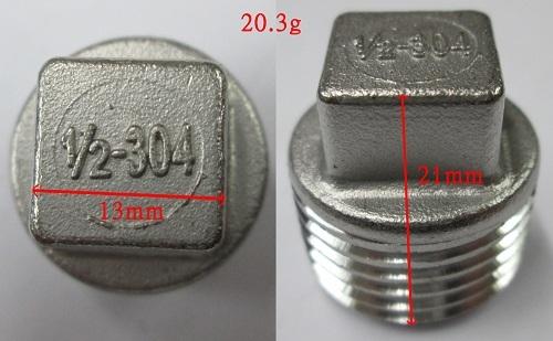 Stainless Steel Head Plug