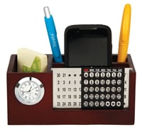 Wooden Multipurpose Pen Stand