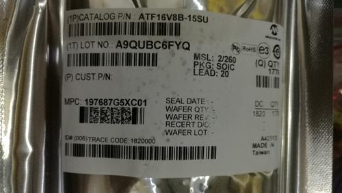 AT16V8B-15SU Integrated Circuits (ICs)