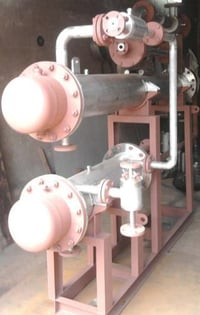 Steam Jet Ejector Vacuum Tube Condensers