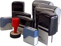 Self Inking Rubber Stamp