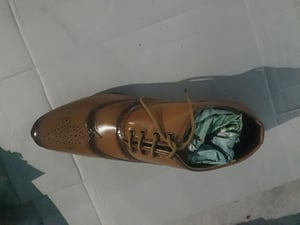 Formal Brown Leather Shoes