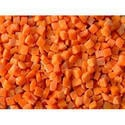 Dehydrated Freeze Carrot Cubes