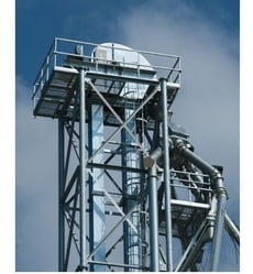 Bucket Type Elevator With Support Tower