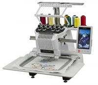 Single Head Commercial Embroidery Machines