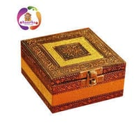 Kaastha Wooden Decorative Jewelery Box