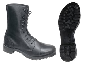High Ankle Leather Boots DMS with Speed Hooks