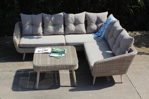 Trento Wicker Corner Sofa Set