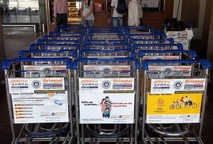 Airport Trolley Branding Services