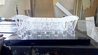 Acrylic Airport Shaped Trophy