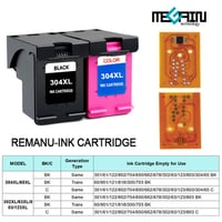 Compatible Converted Ink Cartridge Chip (HP) 21 22 301xl 304xl 64 803 901 64