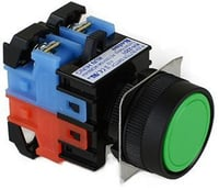 Koino Push Button Switch (Red, Green, Yellow)