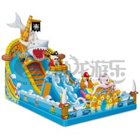 Professional Commercial Cheap Inflatable Water Slides