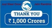 Rs 1000 Crores Wealth Creation Services