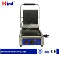 Electric Contact Grill With Removable Plate
