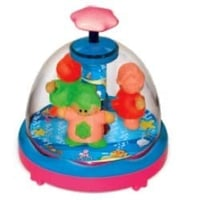 Press N Spin Spinning Babies Toy