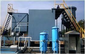 Effluent Treatment Plant For Paint Booth