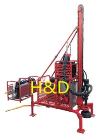 Portable Drilling Rig For Seismic Project, Mountains Area