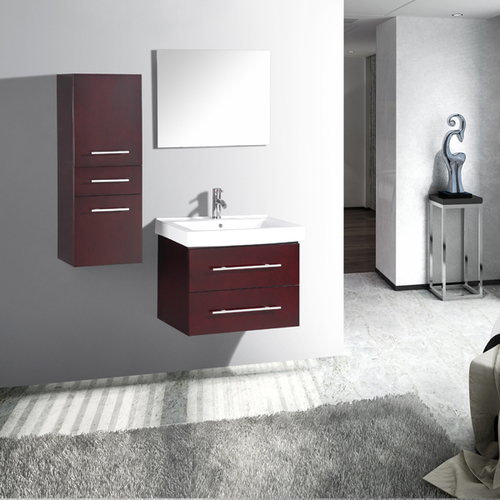 Contemporary Fine Looking European Bathroom Vanity