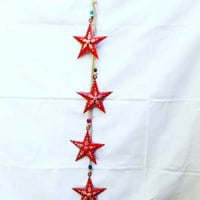 Iron Claster Star Wind Chime