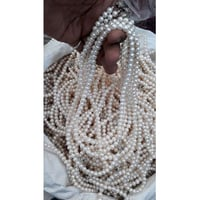 Elegant Pearl Necklace Beads