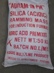 Boric Acid Premixed Silica Ramming Mass