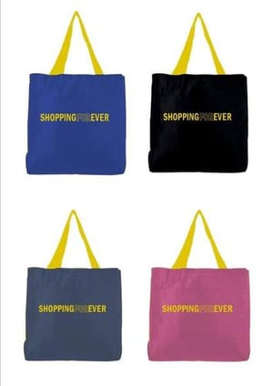 Foldable Polyester Grocery Bag