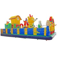 PVC Inflatable Obstacle Course Adult