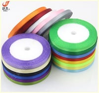 6mm Polyester Satin Ribbon
