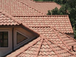 Curved Concrete Roof Tile